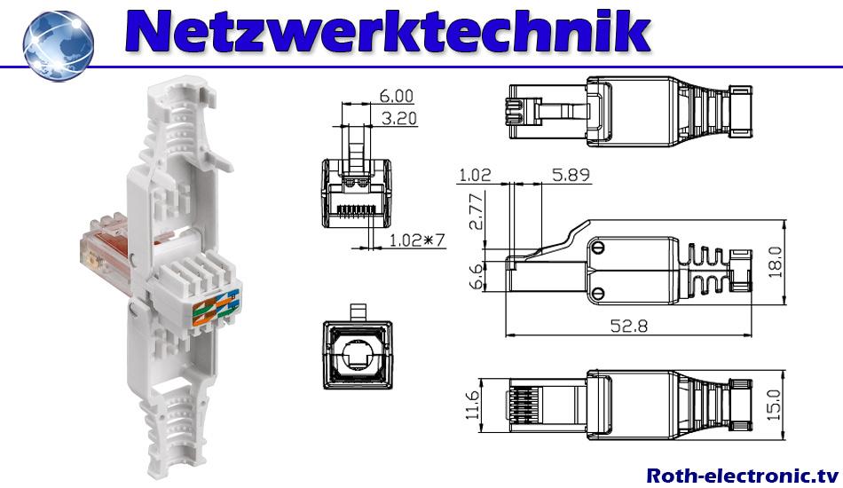 Tolle Cat 6 Stecker Schaltplan Zeitgenössisch - Elektrische ...