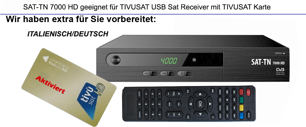 hdtv usb sat receiver mit tivusat karte aktiviert rai mediaset italienische tv ebay. Black Bedroom Furniture Sets. Home Design Ideas